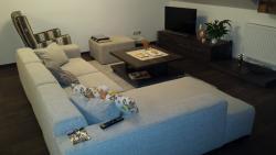 Apartmány - Obývačka