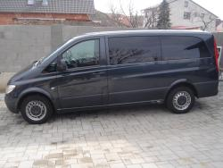 Mercedes VITO 111 CDI  9 miestne Lang - od 40€ na deň, spotreba 7,5l/100km, záloha na auto od 500€